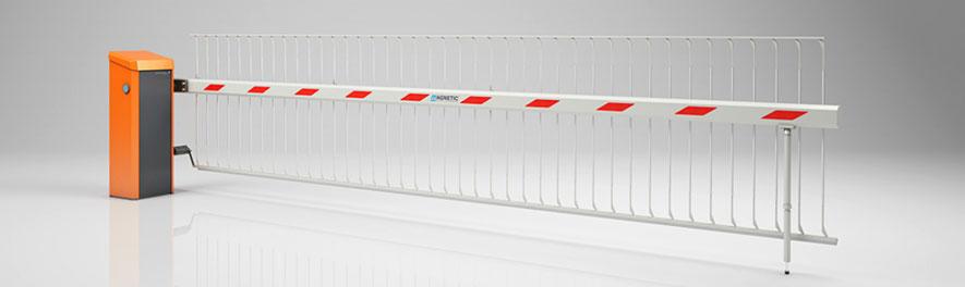 Produktbild Schrankenbaum - Gitter mit Übersteigschutz 1300 mm