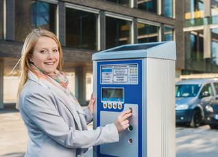 Parkscheinautomaten